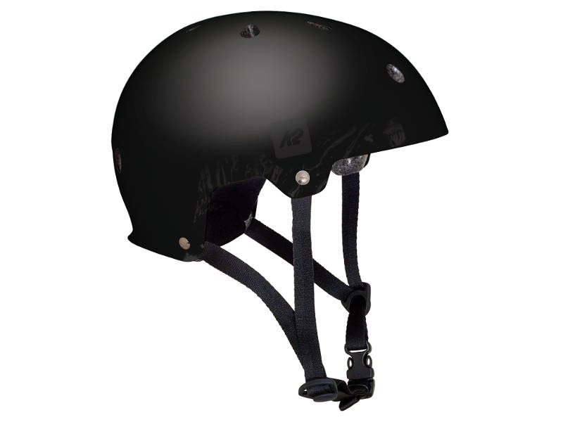PRILBA K2 JR VARSITY BLACK S 2018 Rollinn
