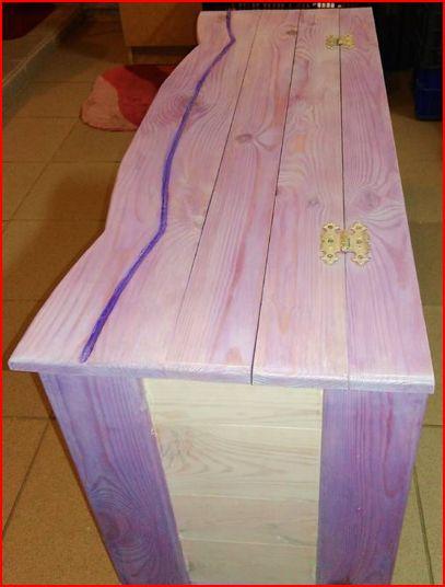 Box vintage štýl hrudníka batožinového priestoru, sedadlá