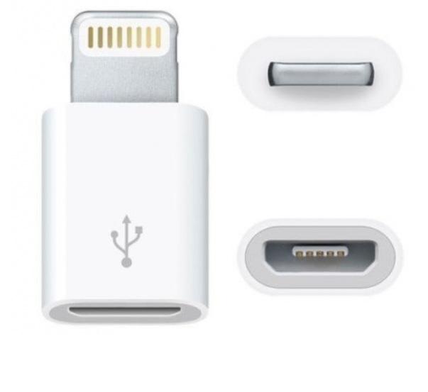 Przejście gniazdo micro USB-ligtning phone 8p(1565