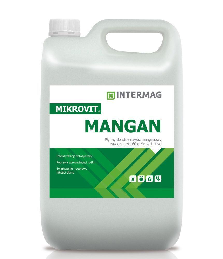 Микровит МАНГАН 20л листовое удобрение INTERMAG