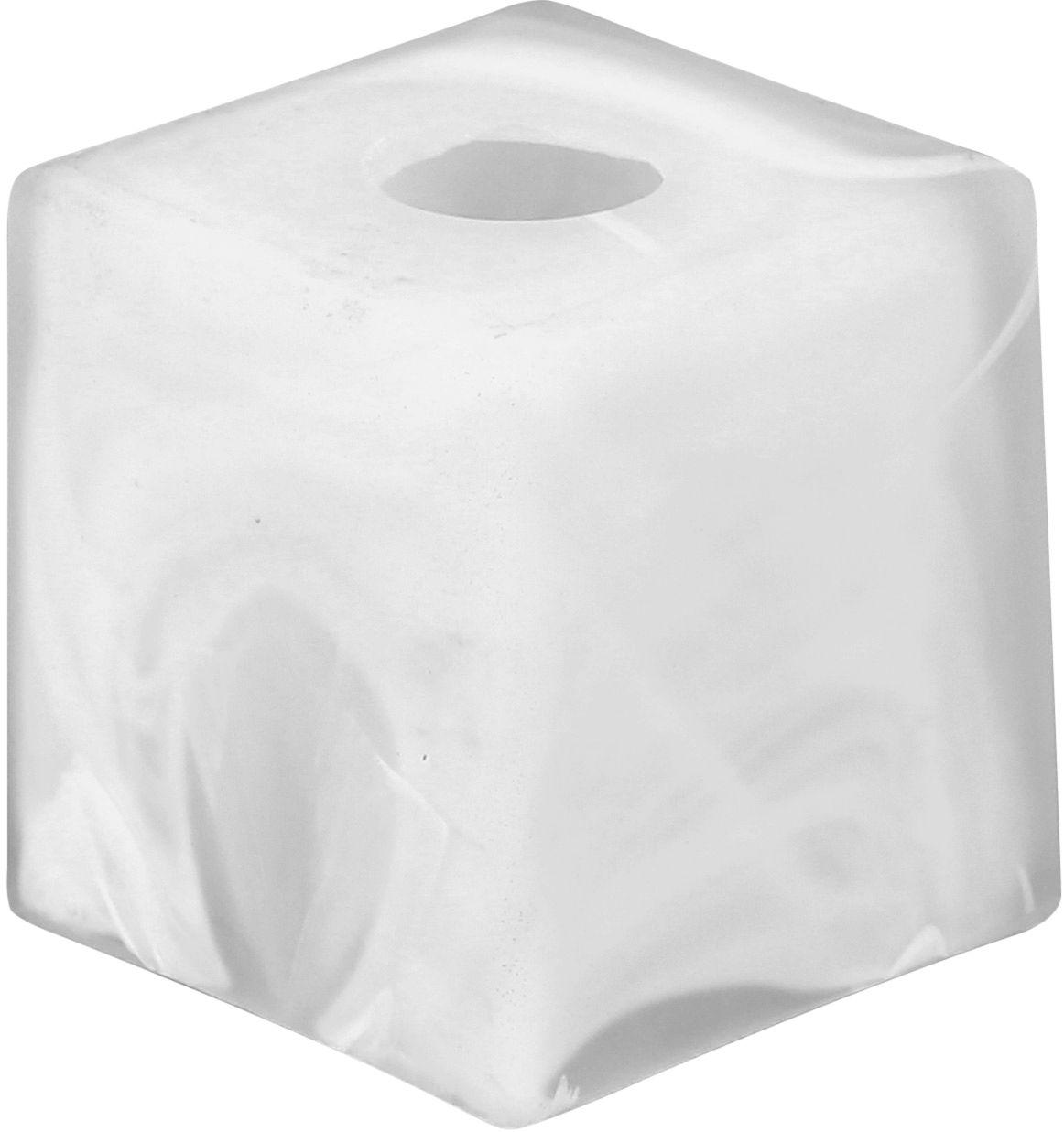 Абажур ?????????? E14 кубик 8x8cm белая ??? люстры