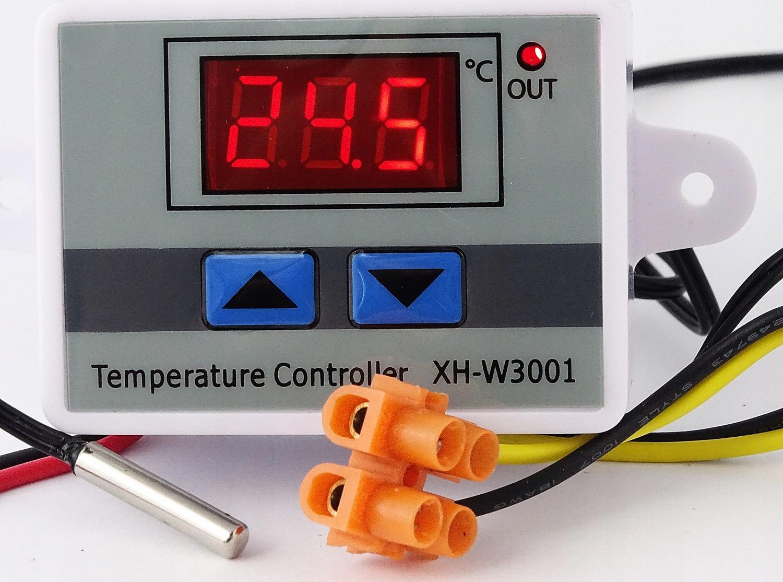 REGULATOR grzałki wentylator temperatury termostat