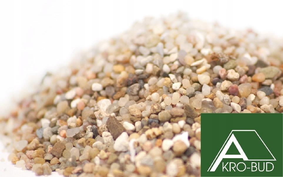 Sandy Sand Brúsenie 25 kg Atest 1,0 ~ 1.5