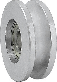 Kruh Roller Roll na lanové oceľové lanko FI 49/6