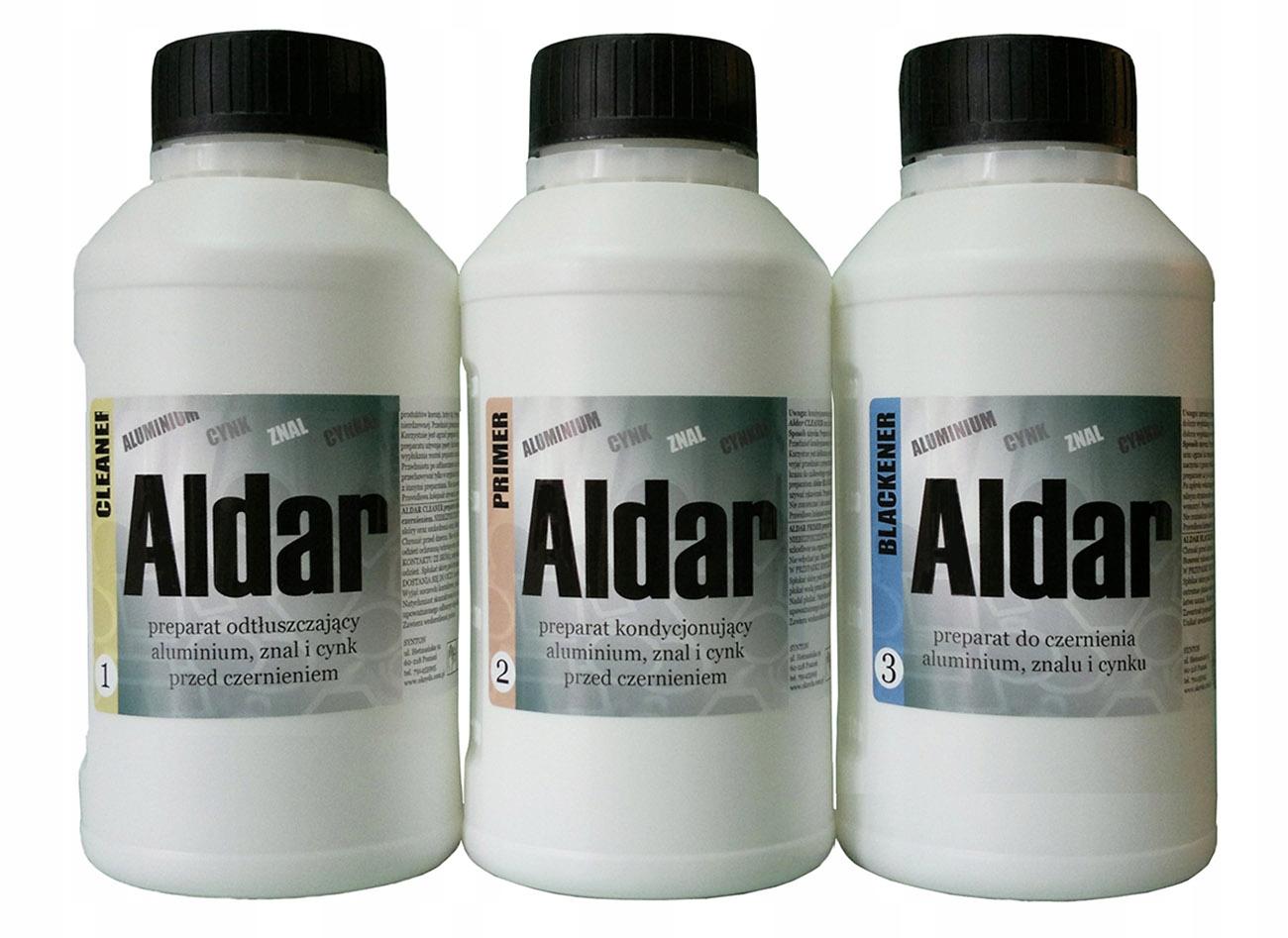 оксид для Алюминий , алюминиевого сплава и цинка 3 x 500 мл