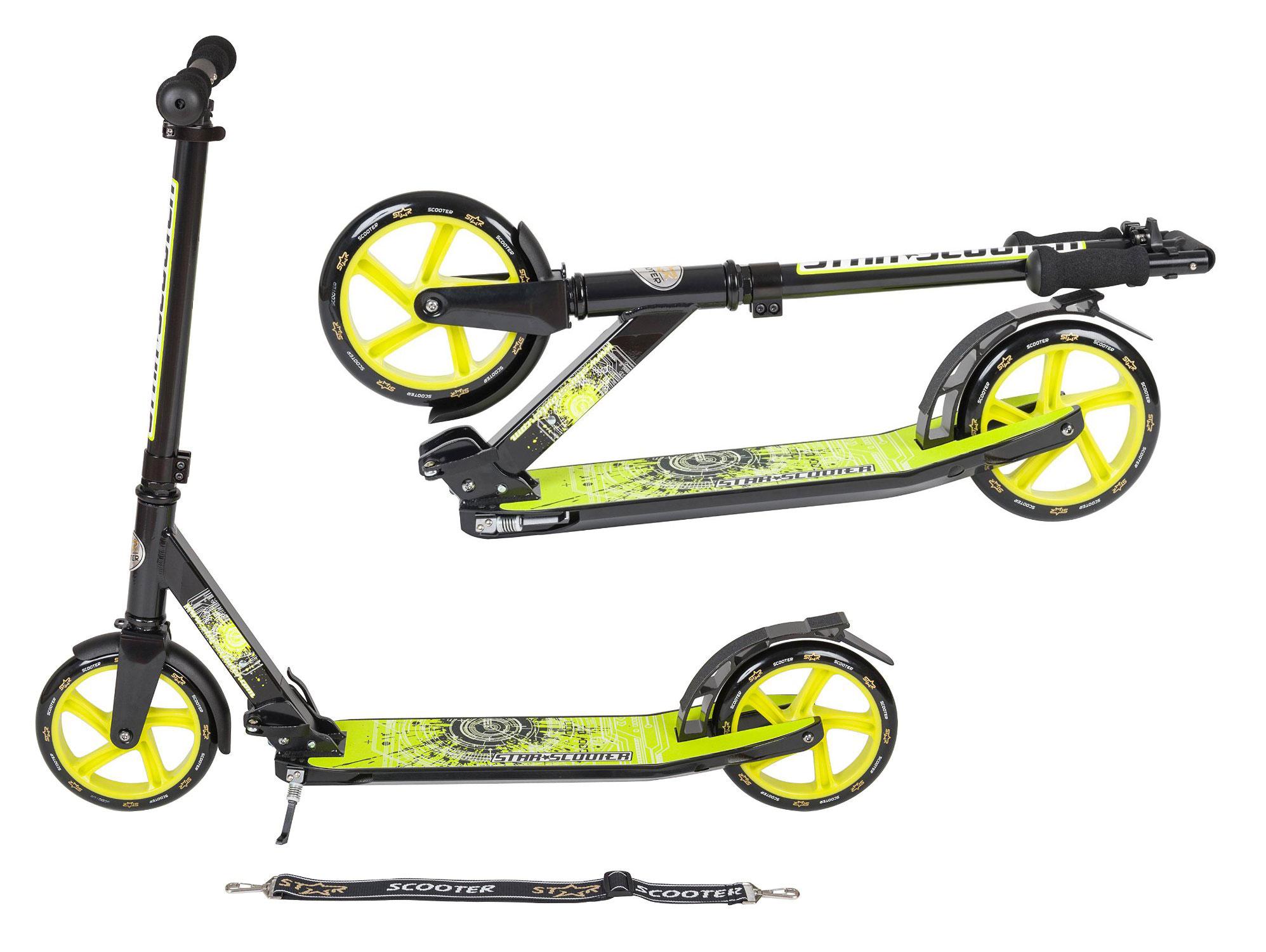 SKÚTER BikeStar 205mm100kg NEMECKÝ čistý luxus XL
