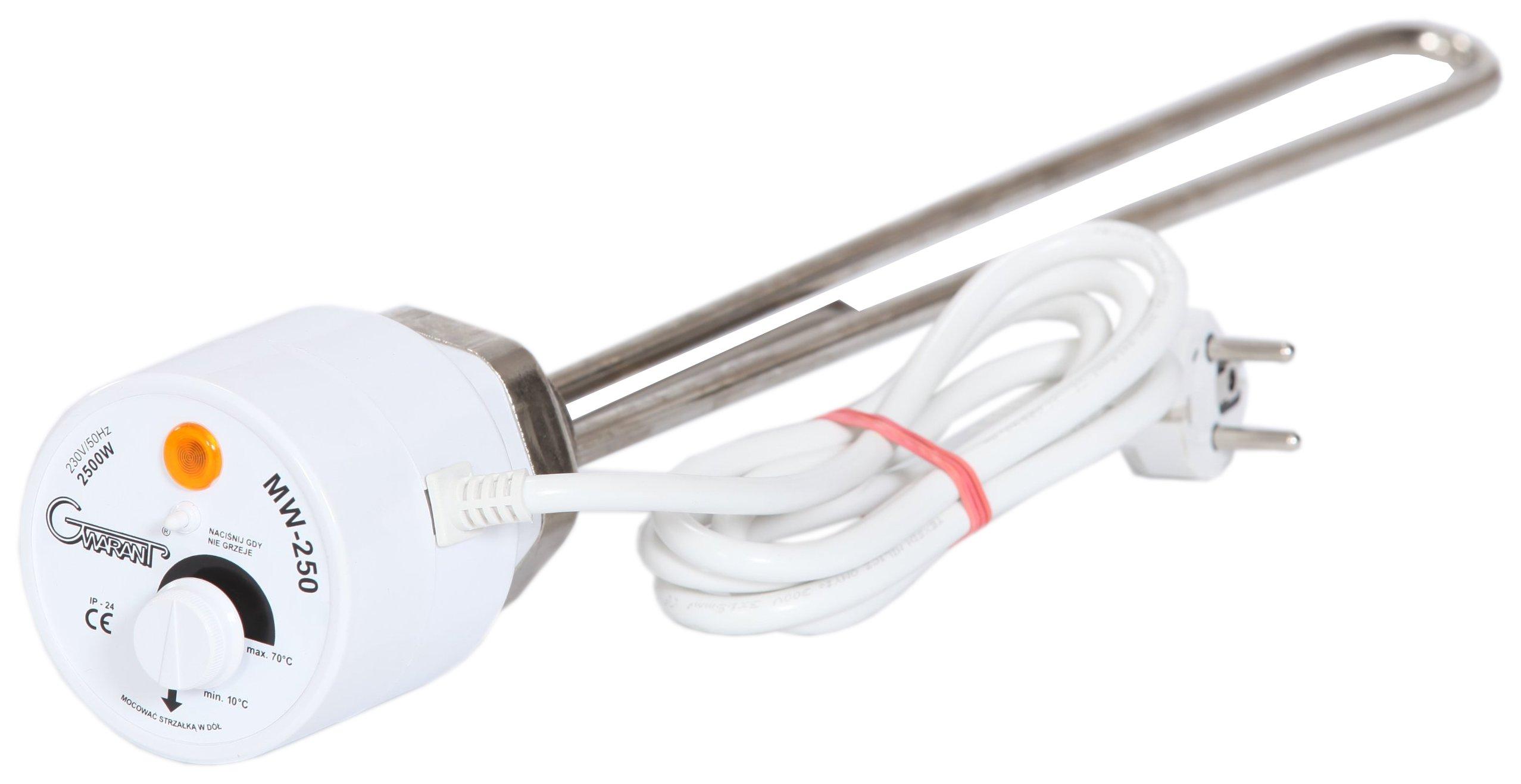 ELEKTRICKÝ OHRIEVAČ s termostatom pre kotol ERMET