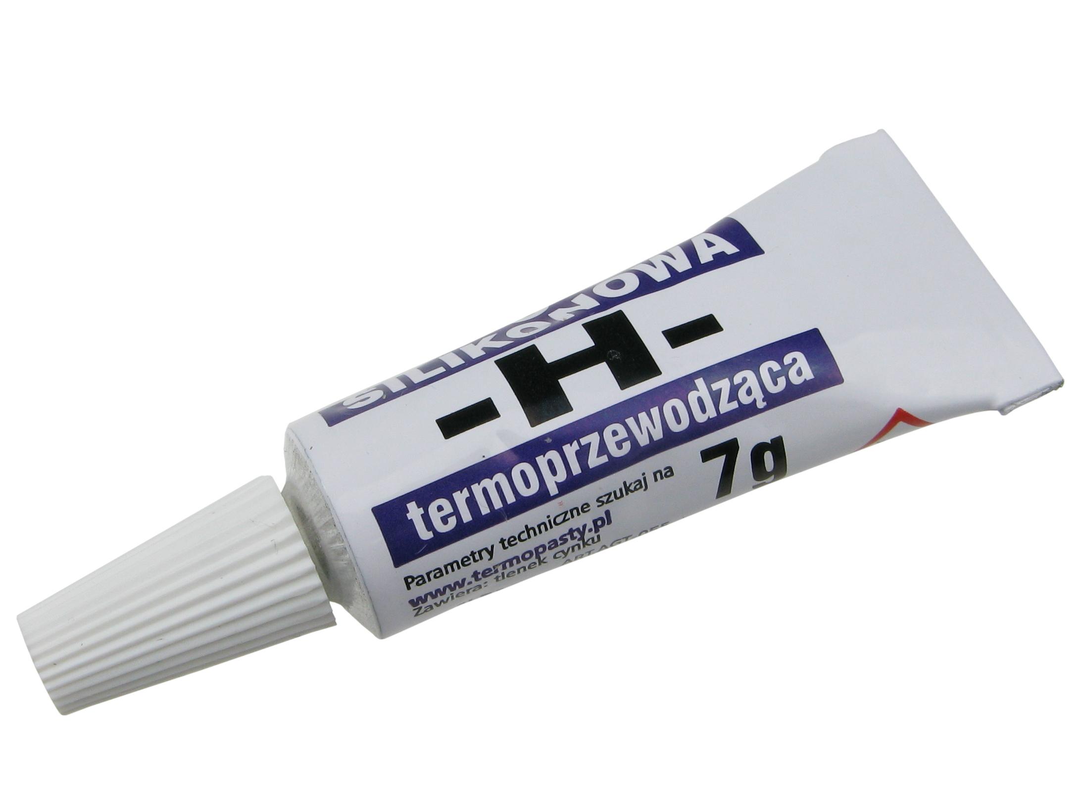 # Pasta silikonowa termoprzewodząca typu H 7g/0793