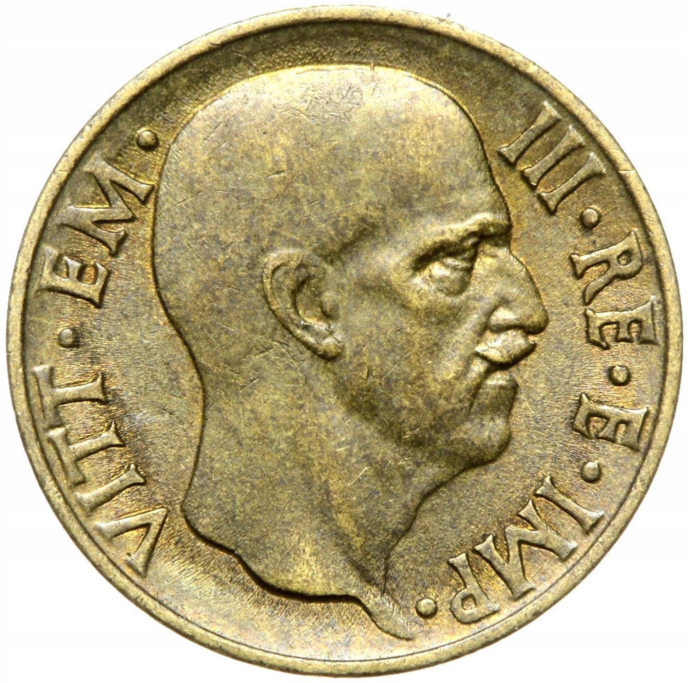 Taliansko - Wiktor Emanuel III - 5 CENTESIMI 1940