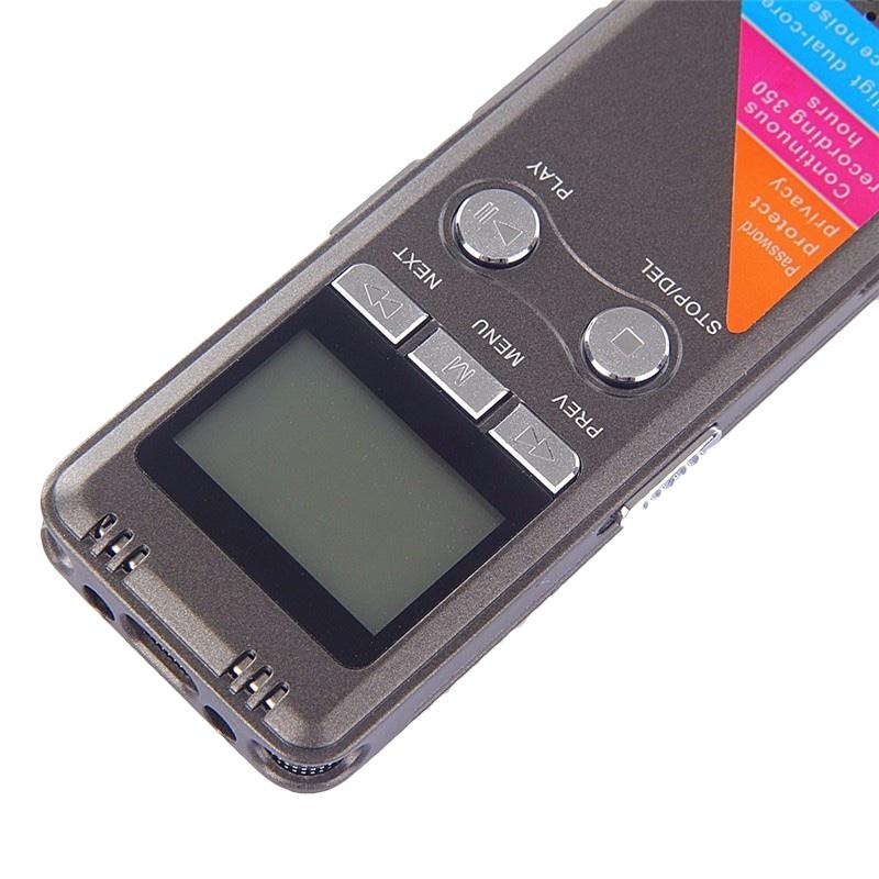 Профессиональный цифровой диктофон 8 ГБ VOX MINI PL PRO