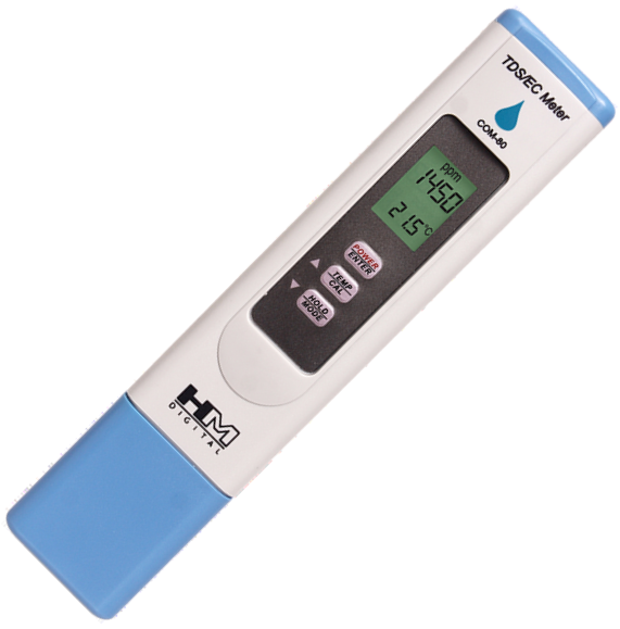 COM-80 TDS Meter/ES/Temp Konduktometr HM-Digitálne