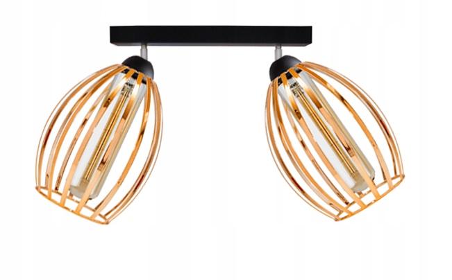 TIENIDLO LAMPY STROPNÉ SVIETIDLO LOFT VINTAGE MEDI EDISON LOFT