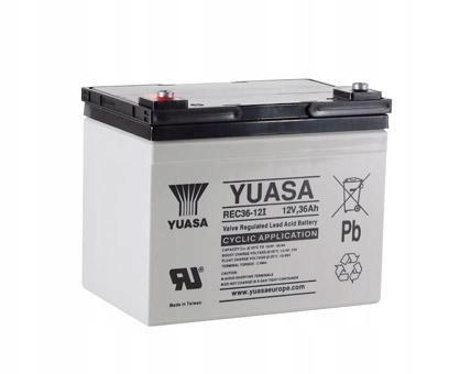 Batéria YUASA 12V 36Ah hlbokému vybitiu