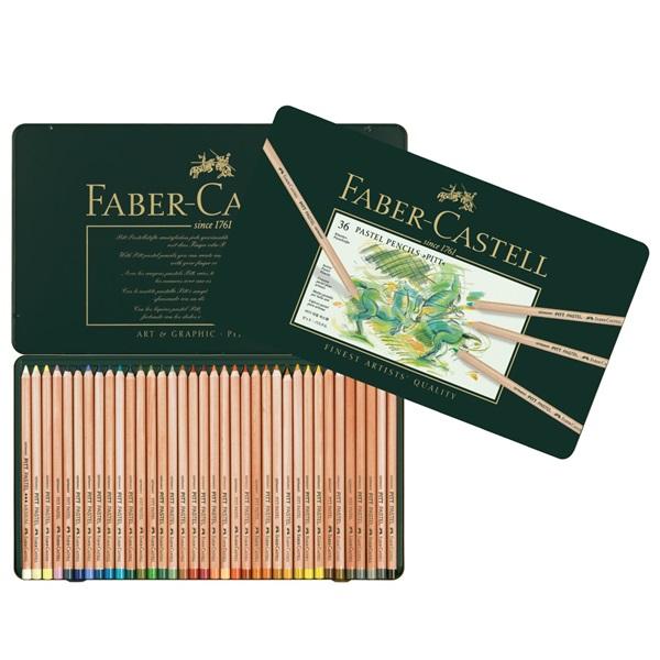 Pastelové ceruzky FABER-CASTELL PITT 36 farieb