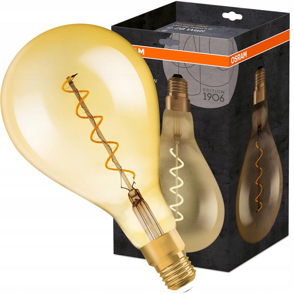 LED Žiarovky žiarovka 5W OSRAM 28W Ročník 1906