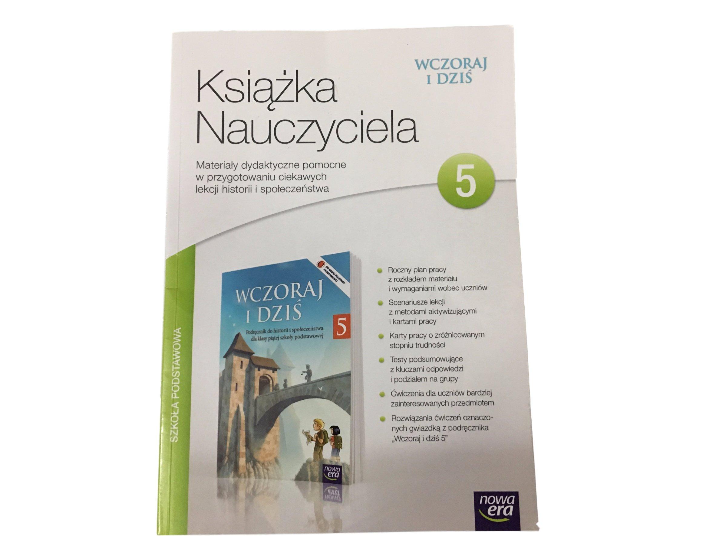 Nowość WCZORAJ I DZIŚ KL 5 SPRAWDZIANY NOWA ERA TEST 7169496120 - Allegro.pl XA42