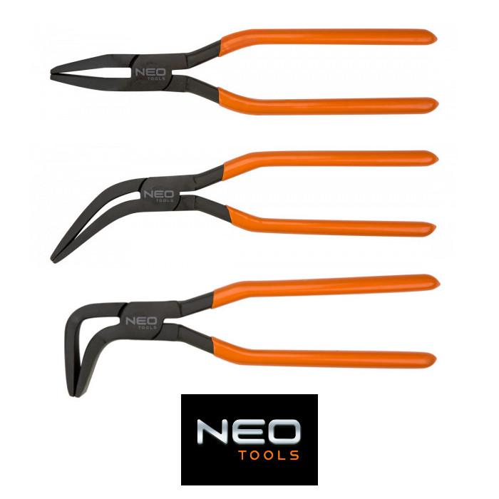 Кровельные клещи NEO CLIPS для листового металла - набор из 3 шт.