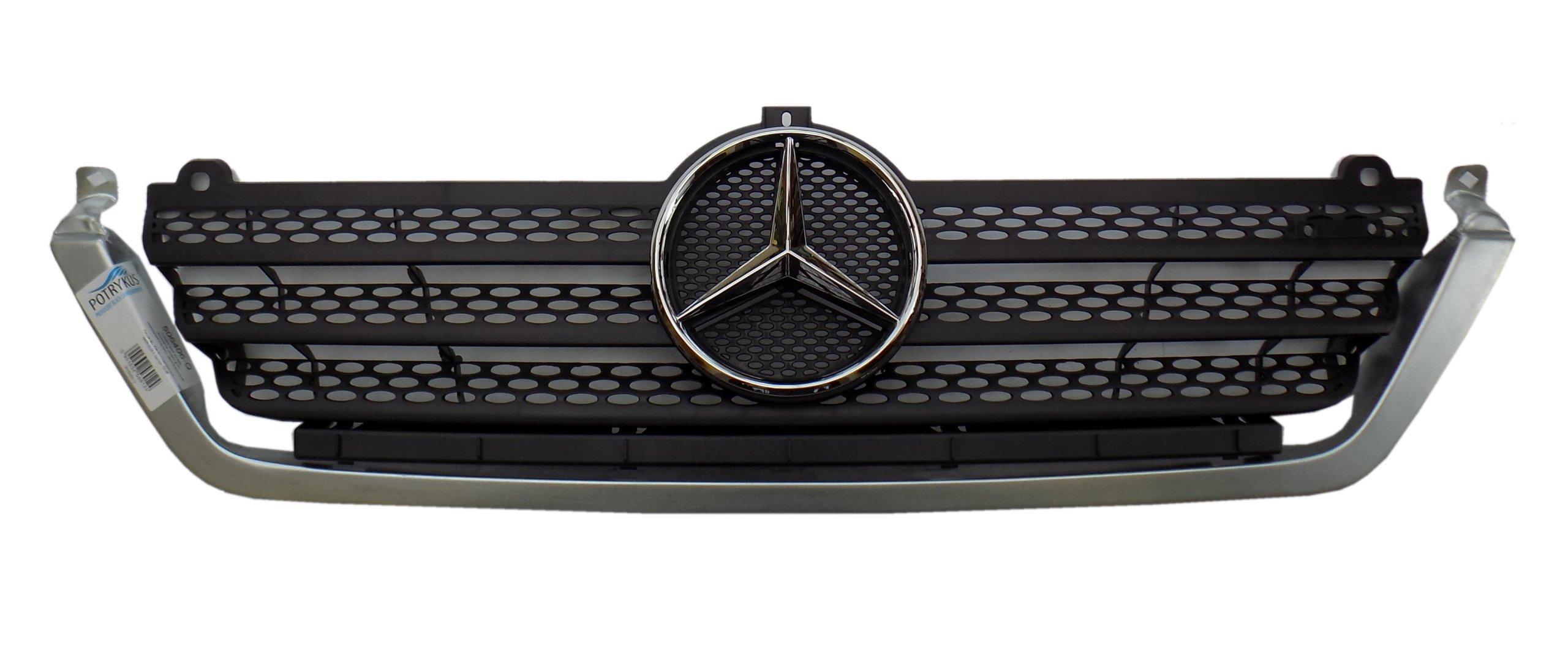 mercedes sprinter 03- cdi решетка гриль планка логотип