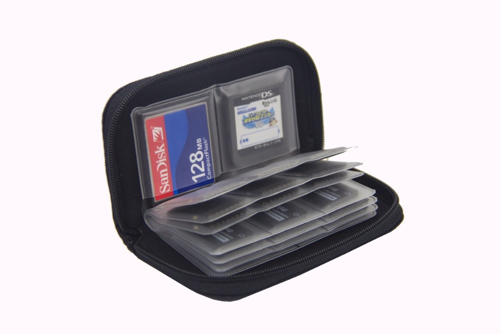 Item The Practical pouch organizer for Memory Cards SD, CF, Micro