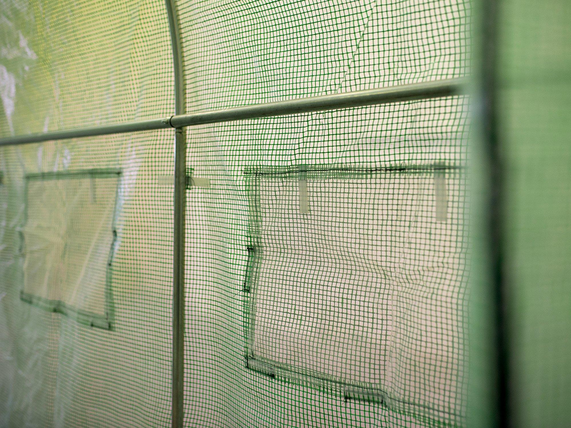 FOLIA NA TUNEL OGRODOWY 2,5x4m ZAMIENNA UV-4 10m2 Wysokość 2 cm