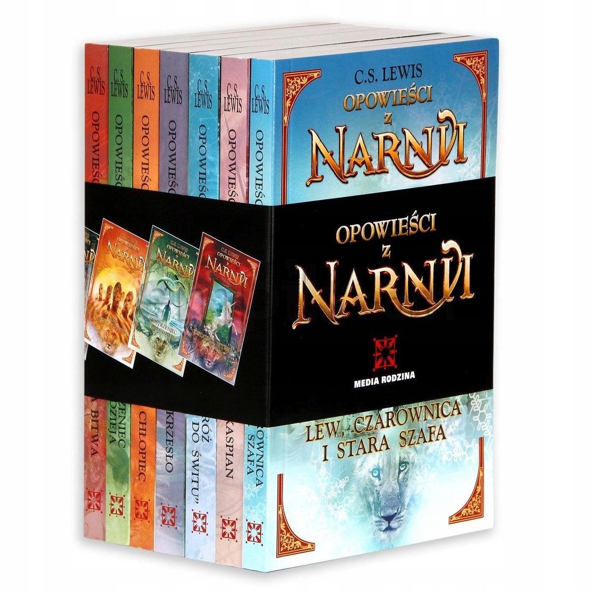 Opowiesci Z Narnii Pakiet 7 Ksiazek Tomy 1 7 79 Zl Allegro Pl Raty 0 Darmowa Dostawa Ze Smart Pamiatkowo Stan Nowy Id Oferty 7639948426