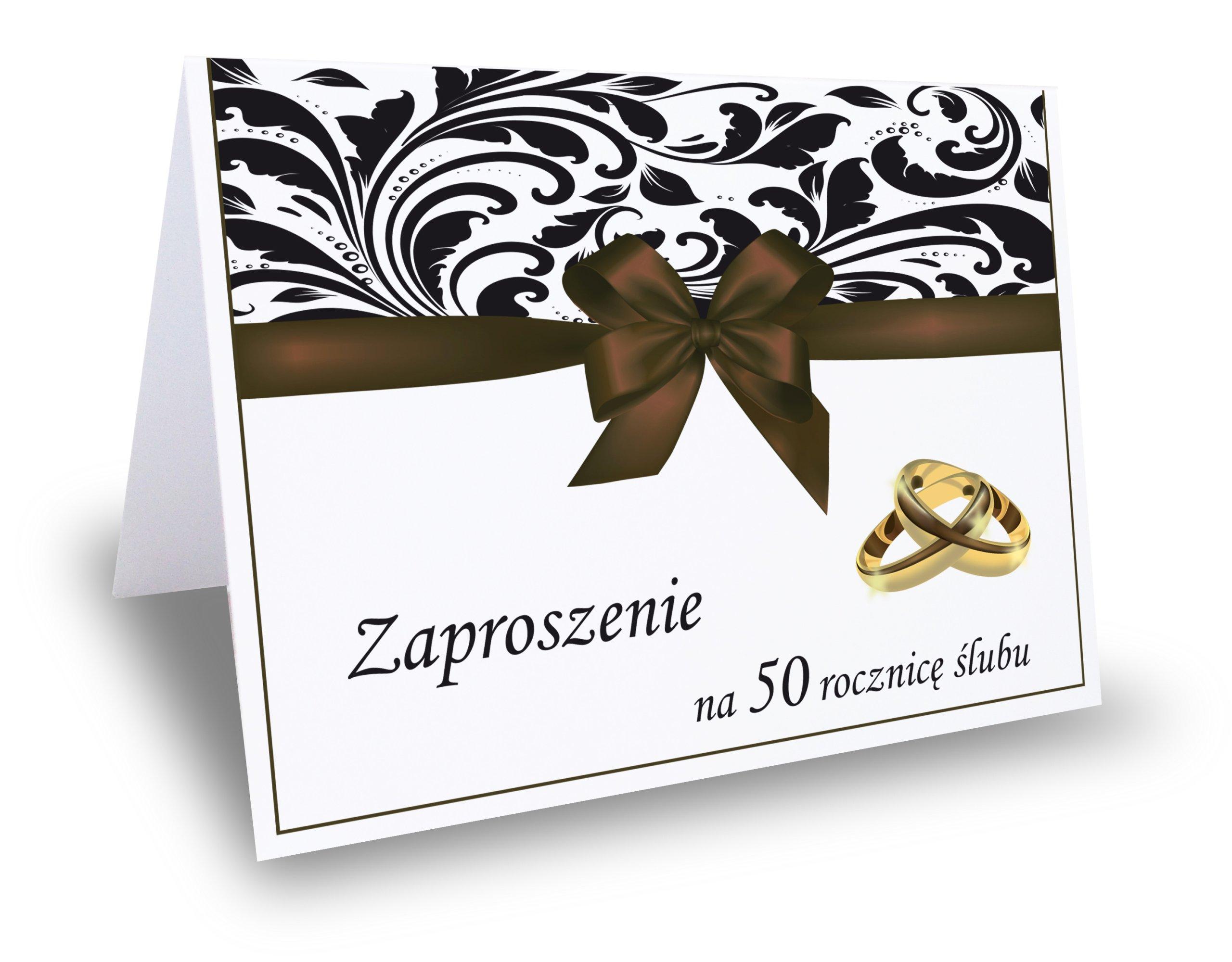 Item Invitation 25 30 40 50 wedding anniversary 10 pieces