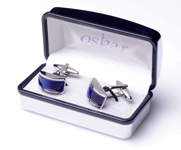 Item BLUE unique cufflinks SORAYA*