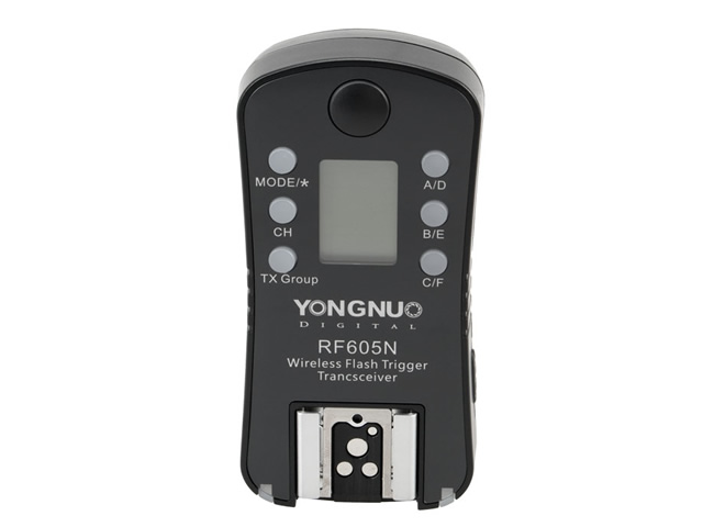 Item Additional Yongnuo trigger RF-605N for Nikon D700 D1