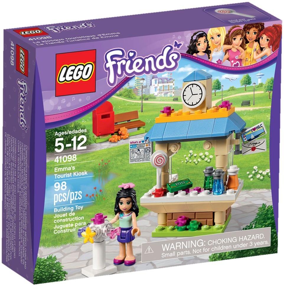 Lego priatelia 41098 Kiosk s šťavou šťavy Emma Shop