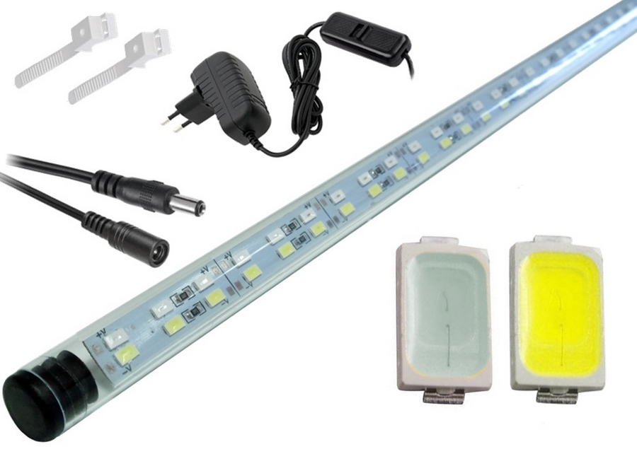 LED lampa akvárium 5630 160 cm, ŠTÍHLA MIX-B-N A