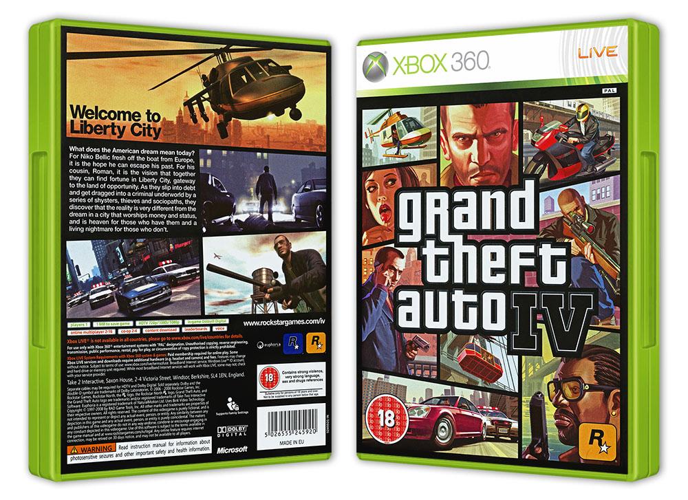 Grand Theft Auto Iv Gta Iv Xbox360 Stan Uzywany 9186610622 Allegro Pl