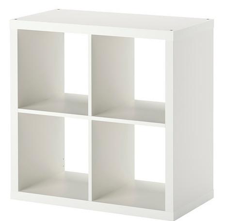 Купить ИКЕА стеллаж ЭКСПЕДИТ KALLAX 77X77 белый ПОЛКА шкаф на Eurozakup - цены и фото - доставка из Польши и стран Европы в Украину.