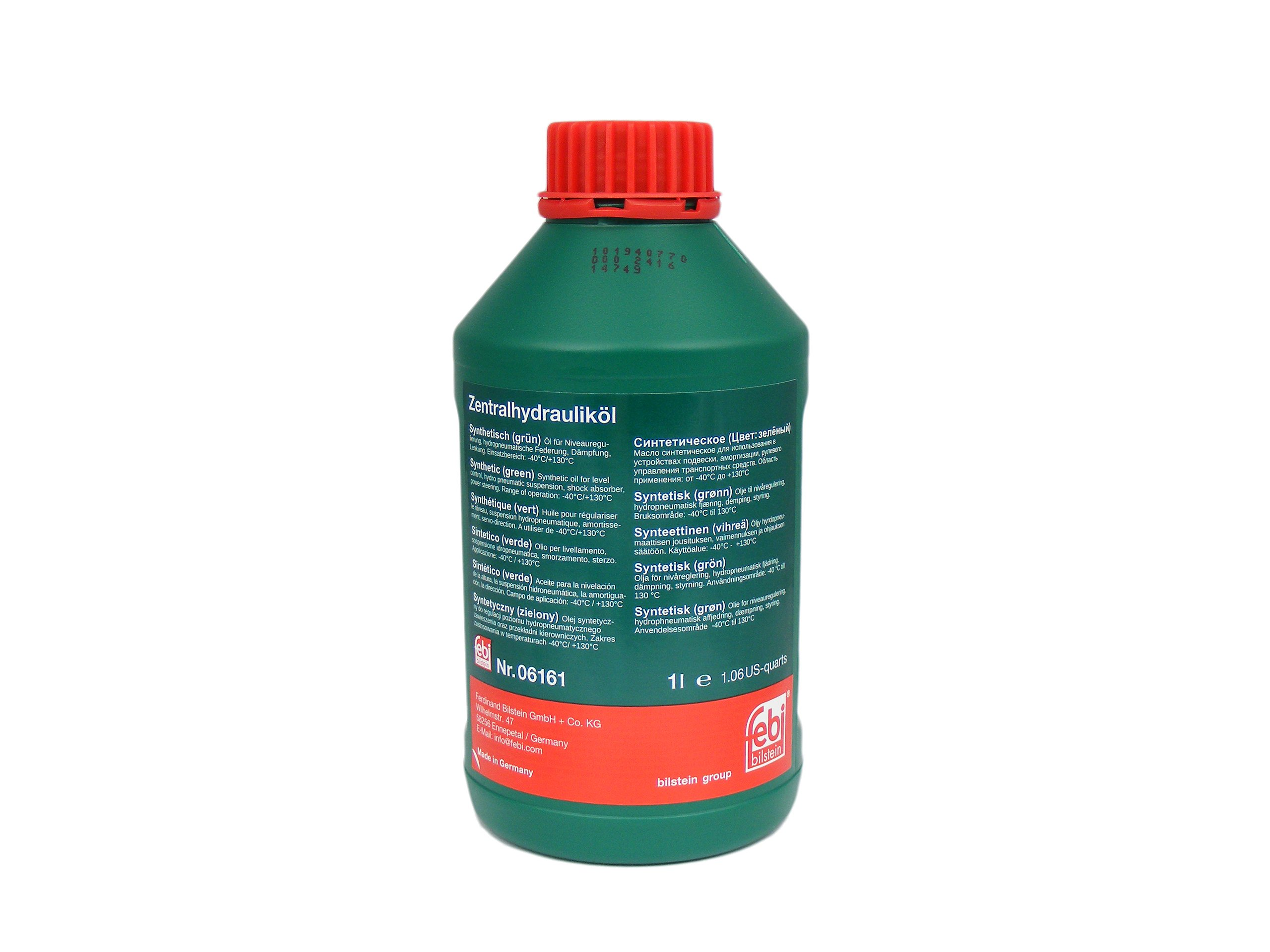 Масло для гидроусилителя синтетическая FEBI 06161 1Л