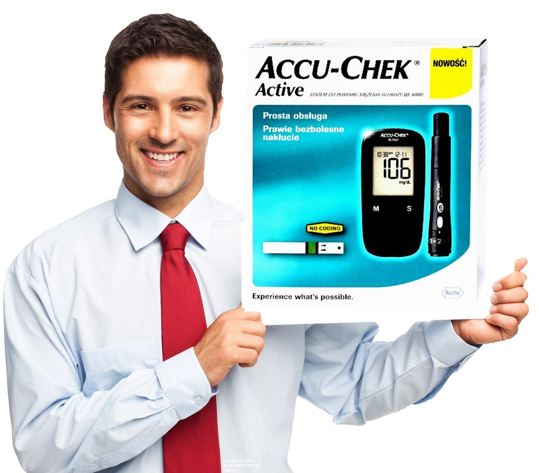 Accu-Chek Active Glocomer + testovacie pásy