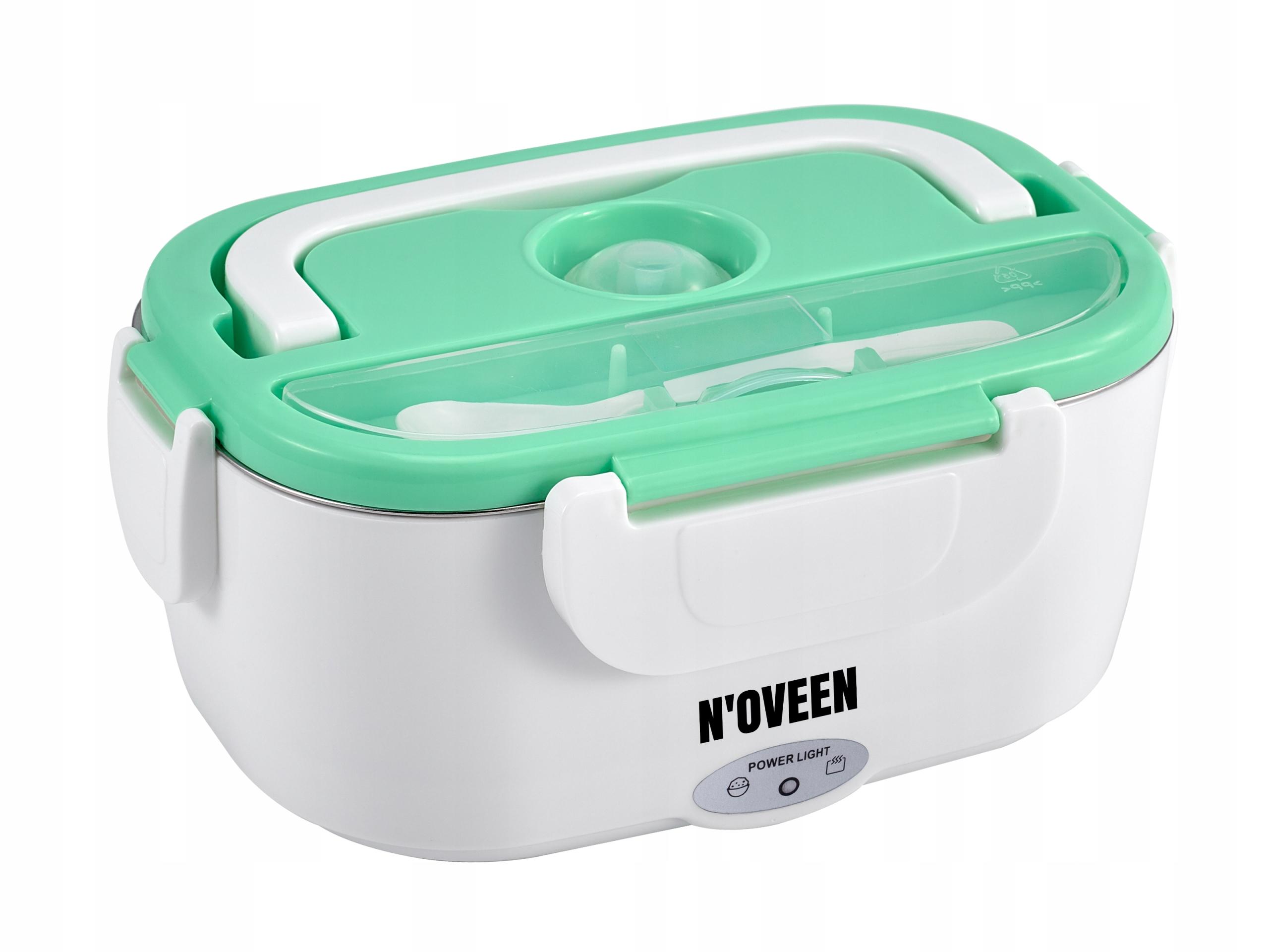 Lunchbox ohrievač potravín Noveen ŠEDÁ/MINCOVŇA