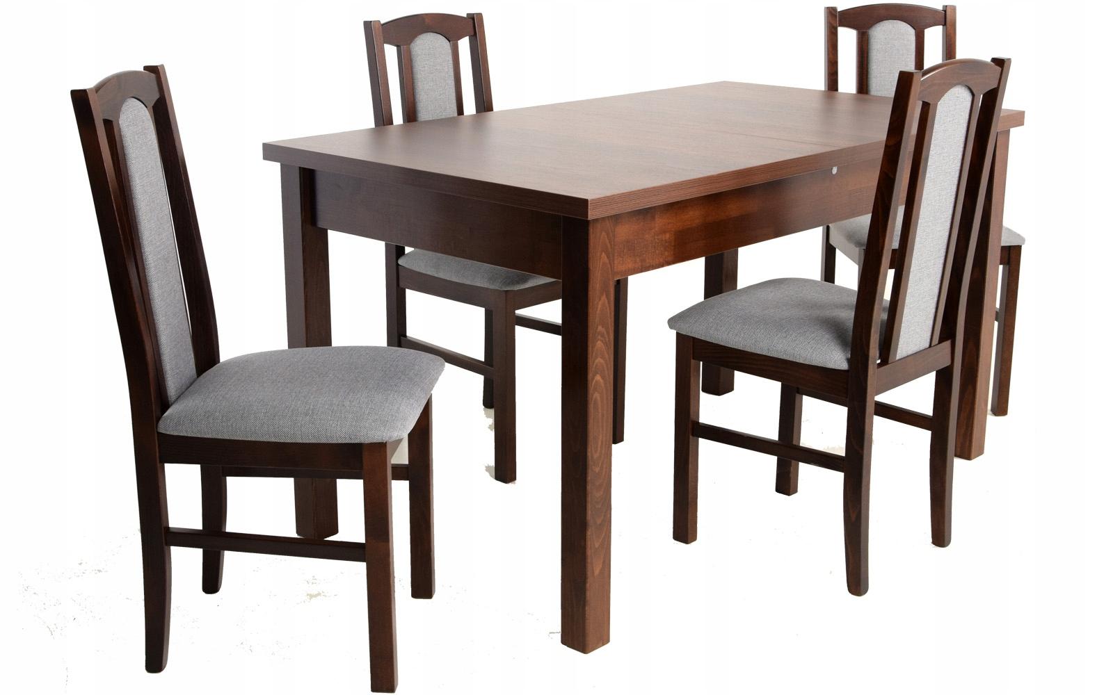 Купить НАБОР КОМНАТ стол 80x140 и 4 деревянных СТУЛА на Otpravka - цены и фото - доставка из Польши и стран Европы в Украину.