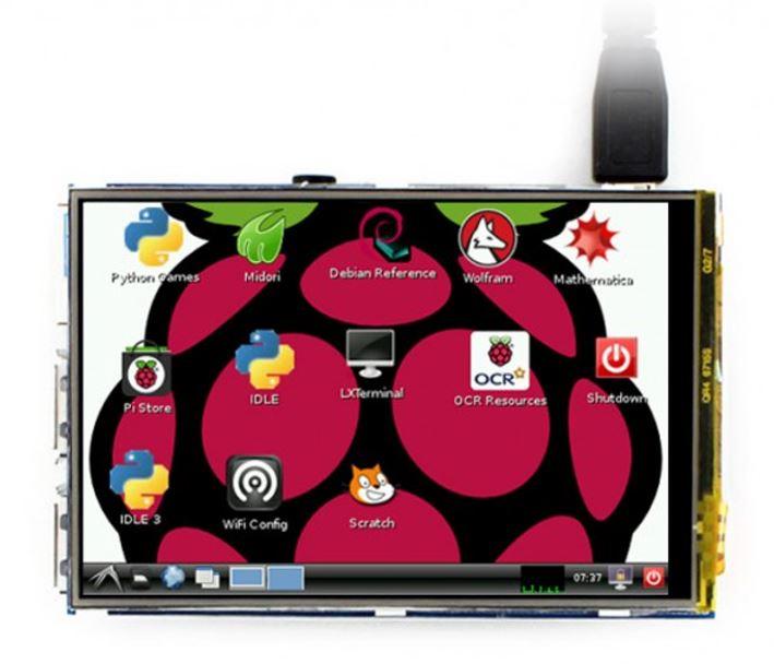 LCD TFT 3.5