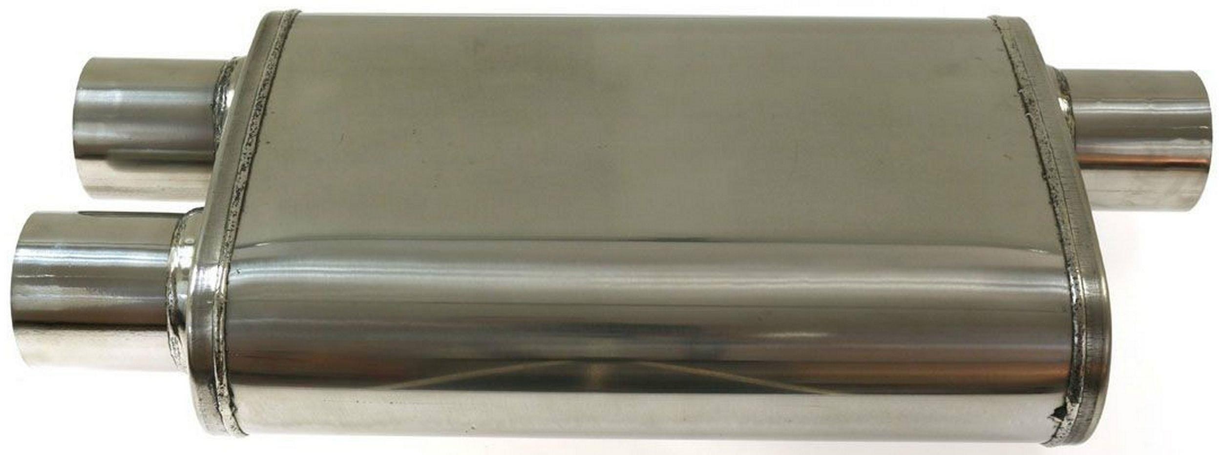 глушитель спортивный Средний задняя панель 2 75'' turboworks