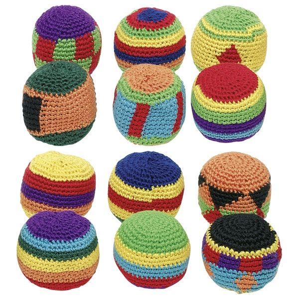 Piłeczka ZOŚKA tradycyjna footbag piłka GOKI