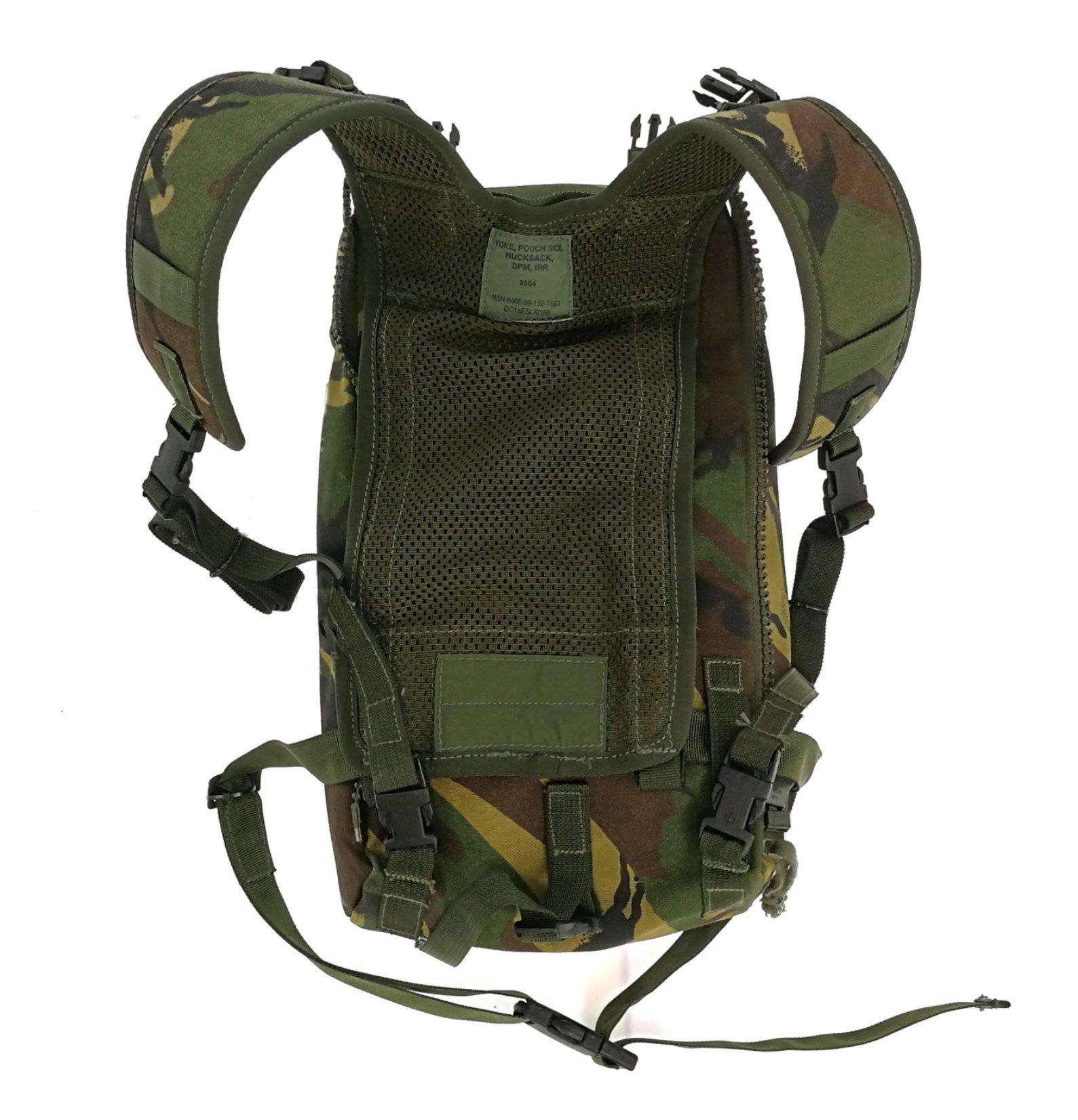 военный рюкзак SIDE POUCH DPM WAR II