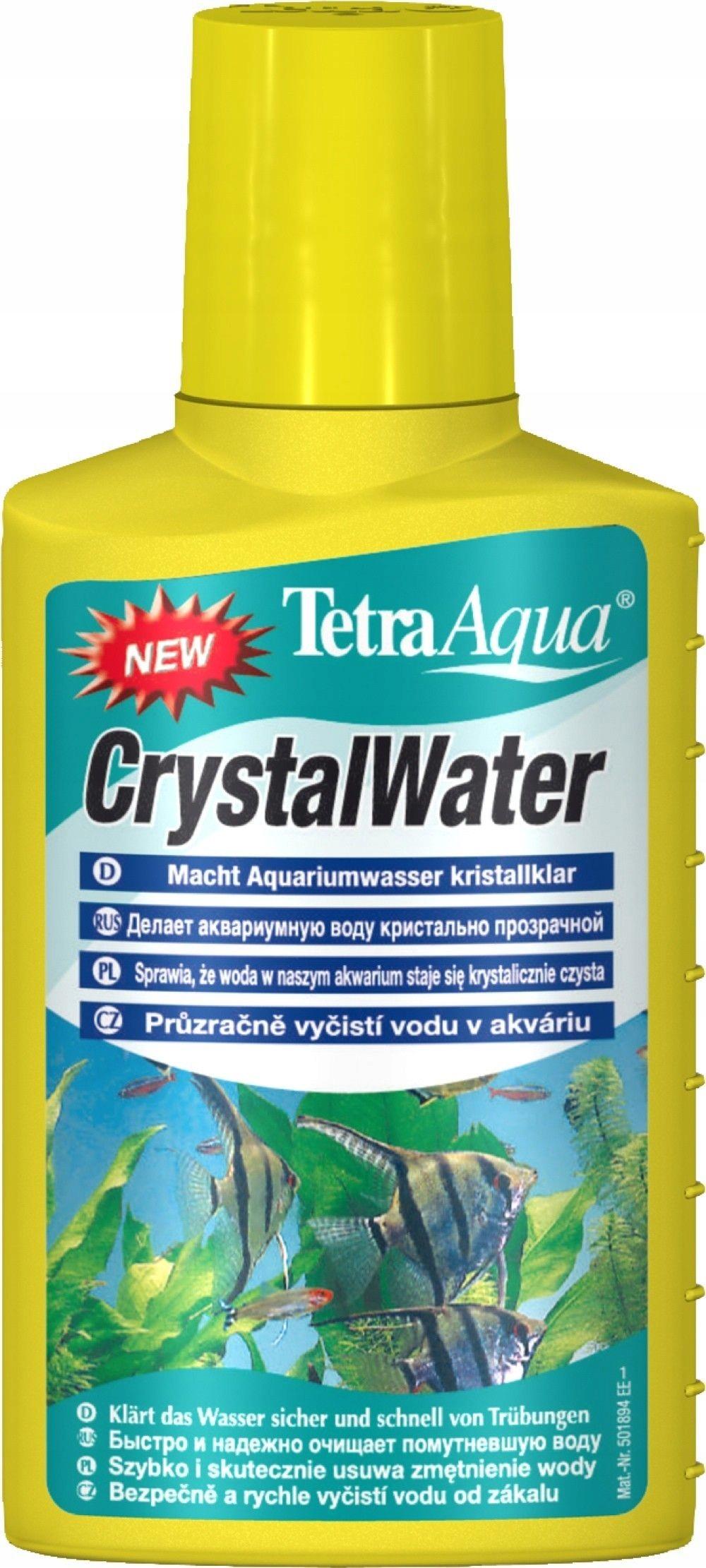 TETRA KRYSTALICZNA WODA W AKWARIUM 100ml