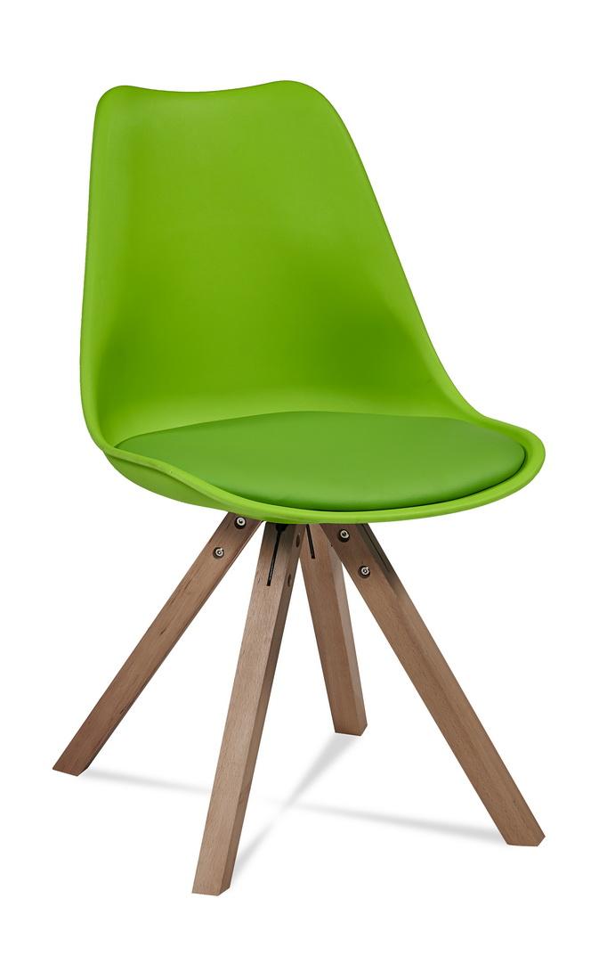 Krzesło Plastikowe Kuchnia Salon Pub Lokal Zielone