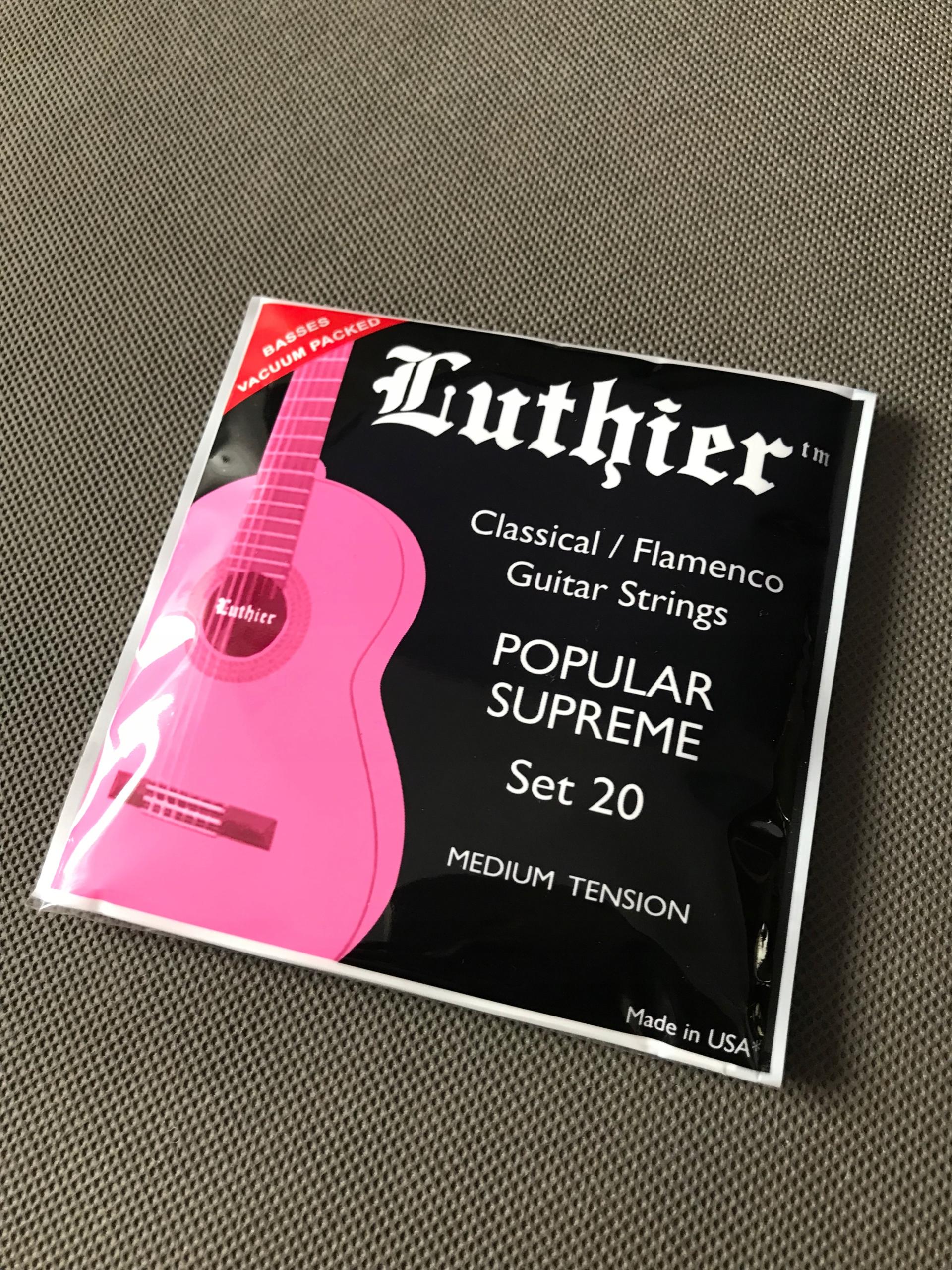 Struny nylonowe Luthier set 20