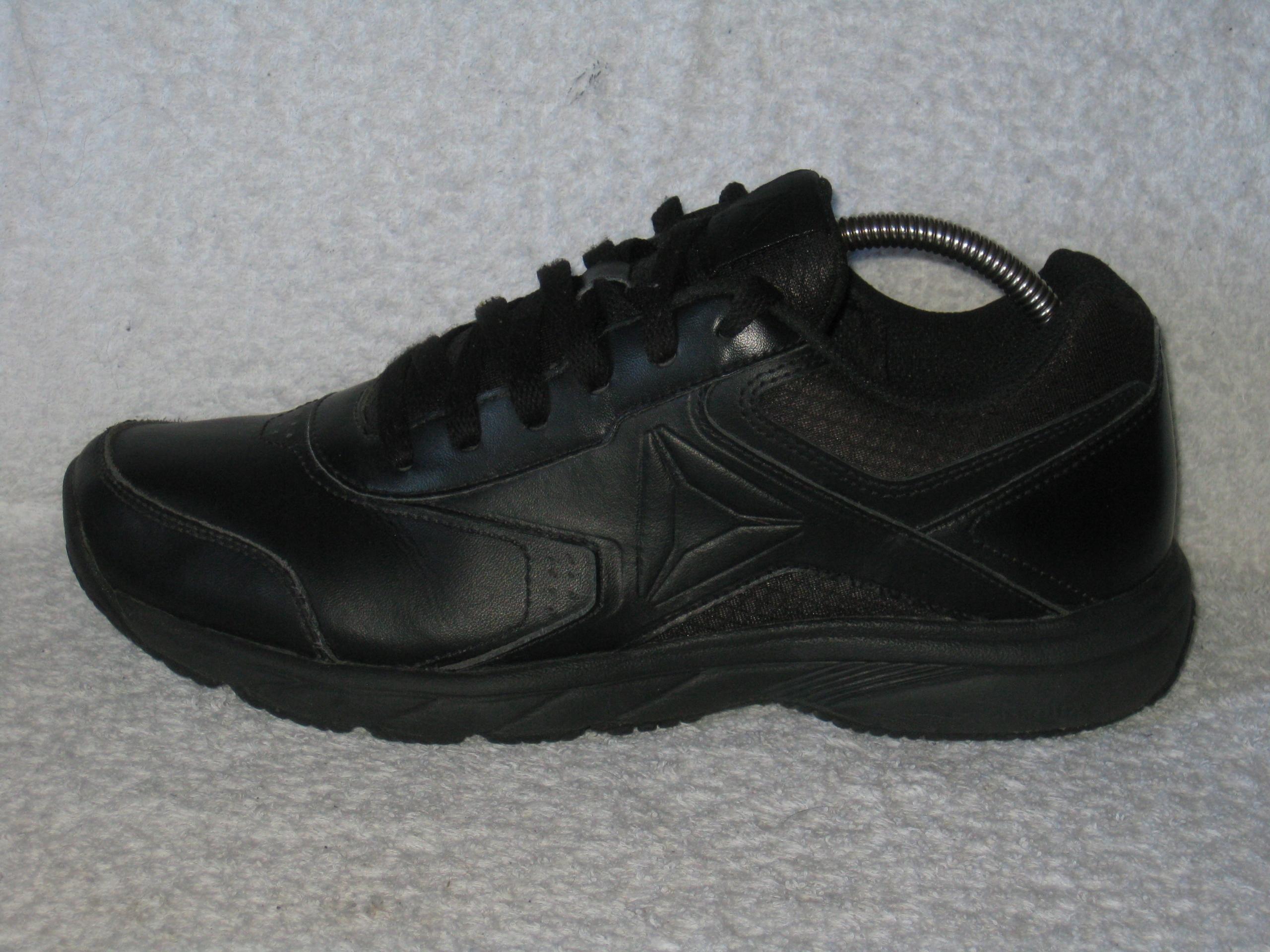 Reebok Men's Work N Cushion 3.0 Walking Shoe, BlackBlack