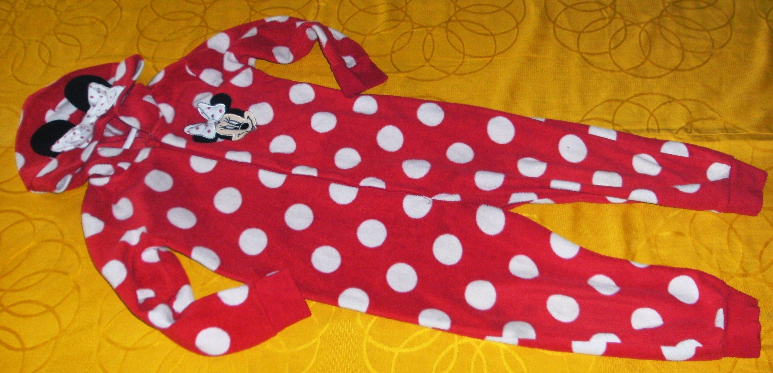 91e893de08fdd6 MINNIE Disney pajac piżama 104-110 cm 4-5 L - 7199533003 - oficjalne ...