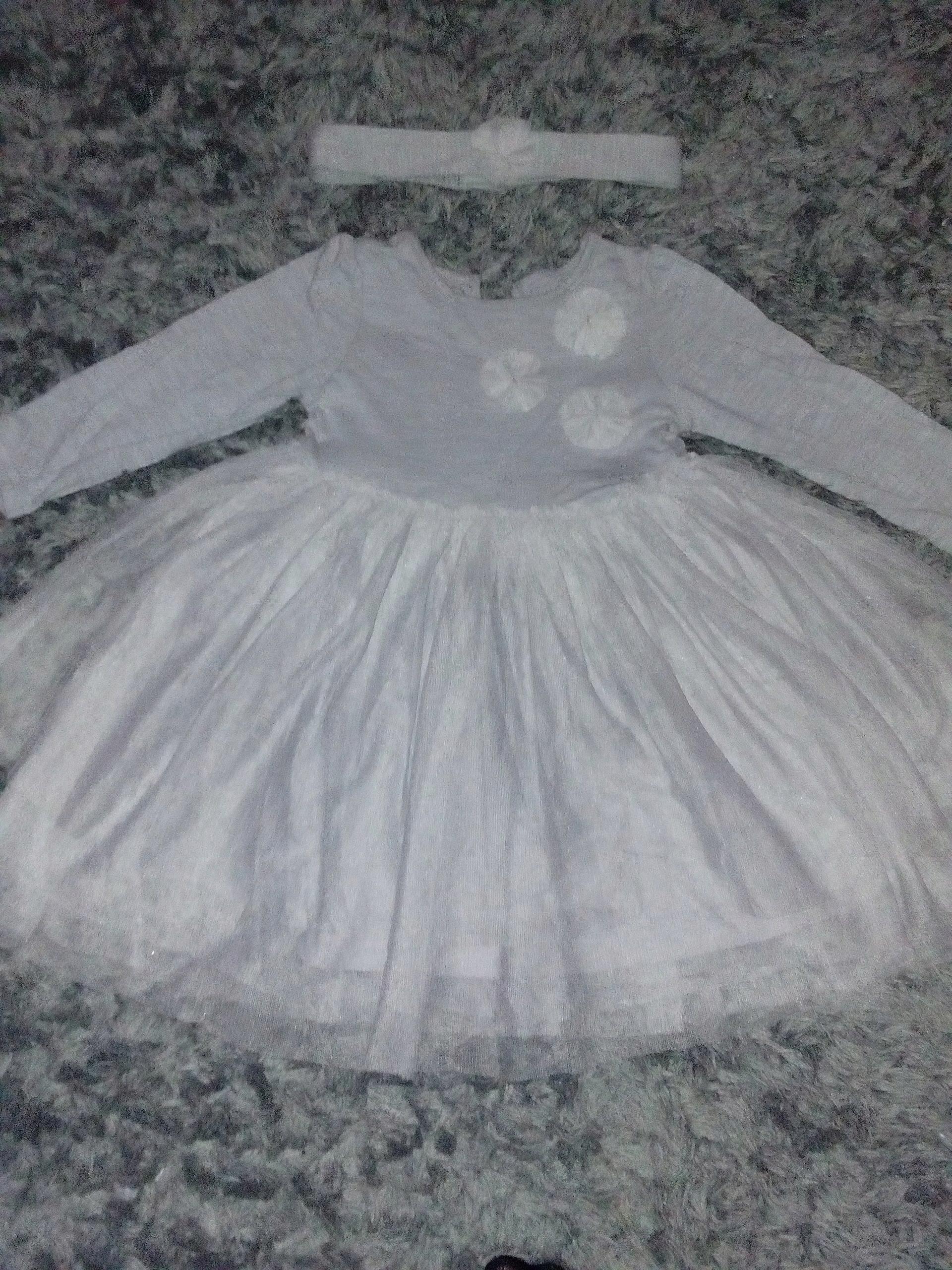 33ba8291fe sukienka Early Days 80 tiul z opaską - 7643474804 - oficjalne ...