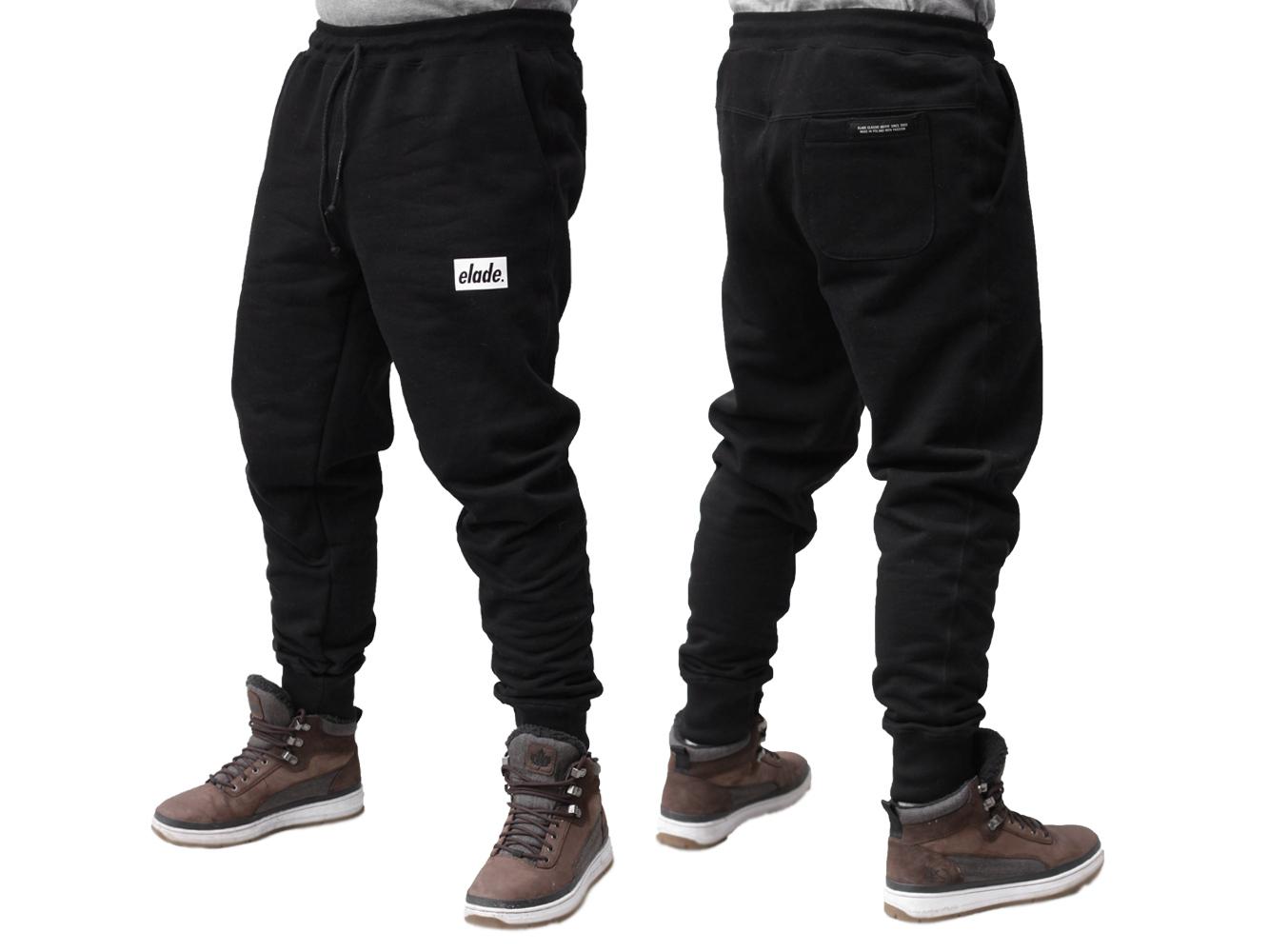 najwyższa jakość nowa wysoka jakość wysoka moda Spodnie Dresowe Elade Mini Box Czarne M - 7249375513 ...