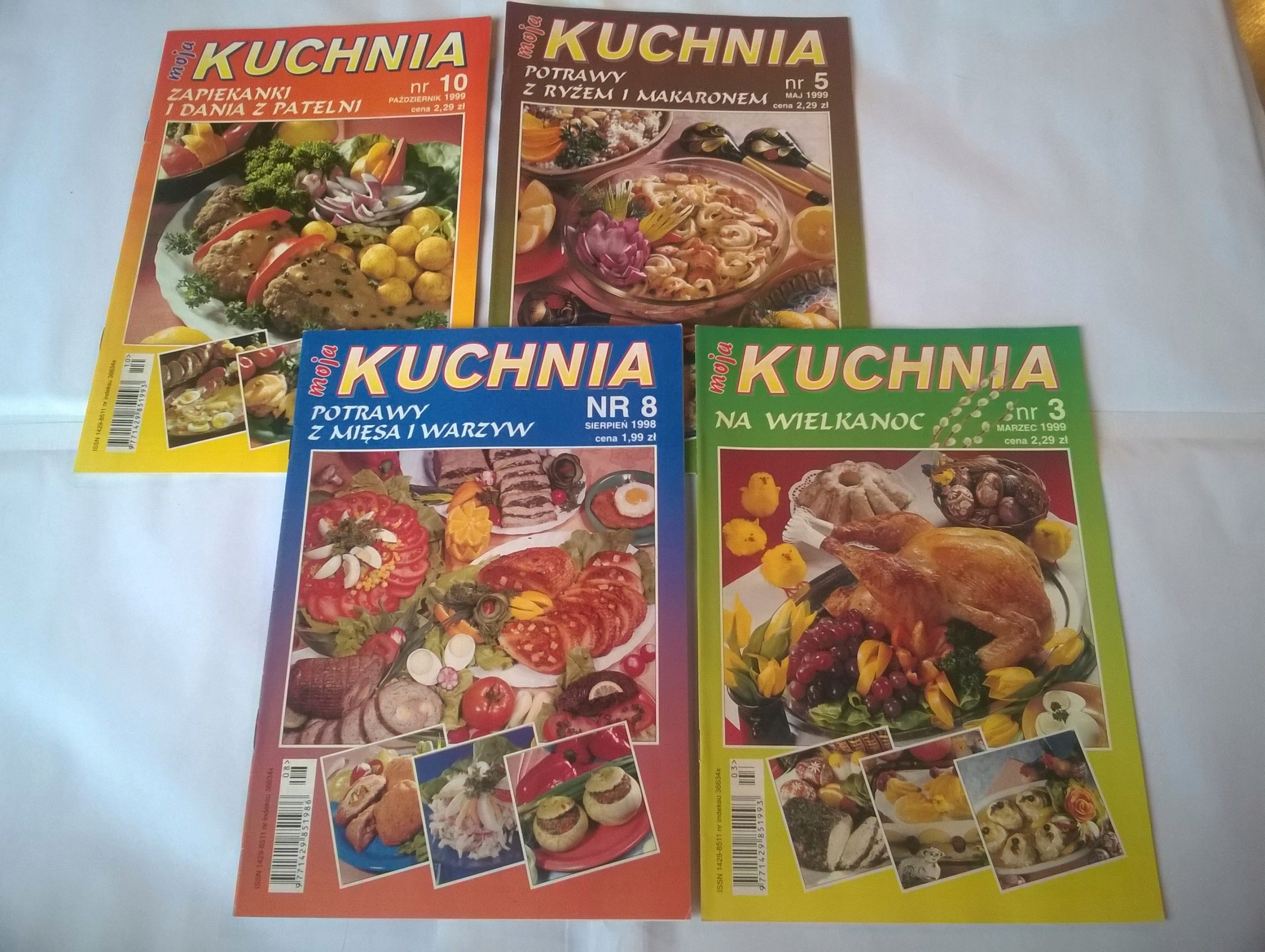 Moja Kuchnia 4 Czasopisma 1999 1998 7560330718