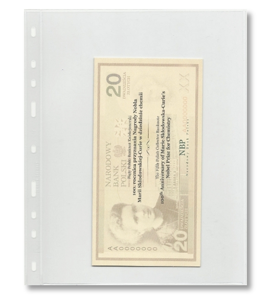 Leuchtturm - Strona, karta Optima 1C banknoty