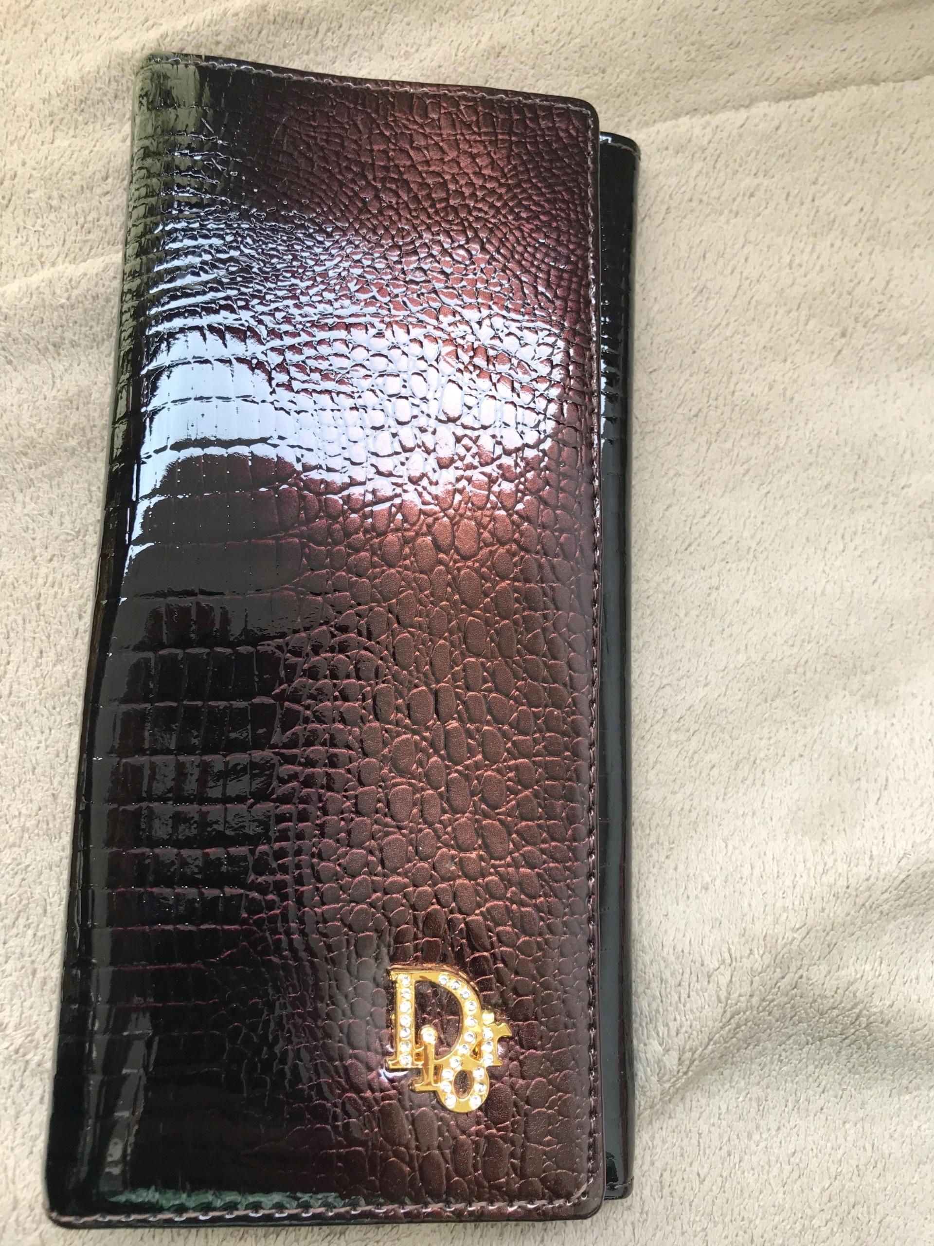 d1e716239e028 Damski portfel dior - 7561376141 - oficjalne archiwum allegro